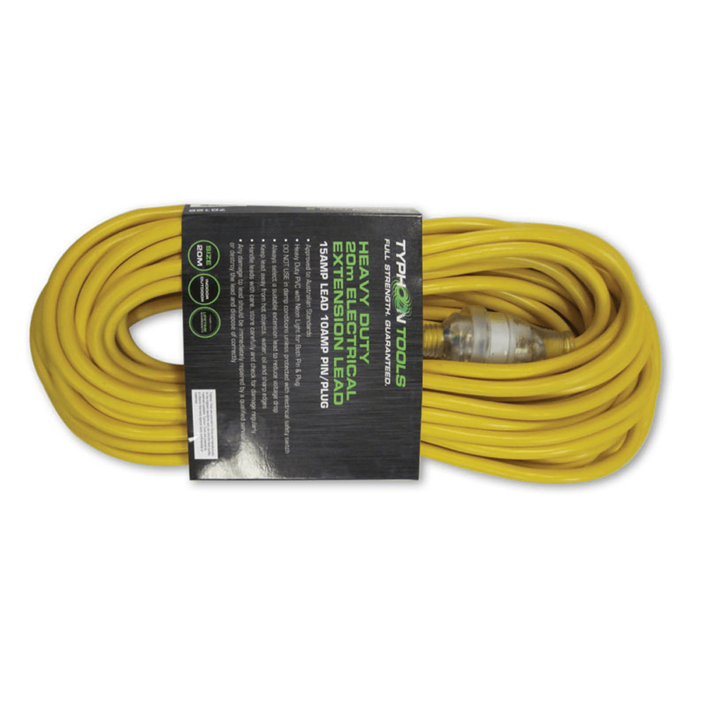70122 Typhoon Tools Heavy Duty Extension Lead