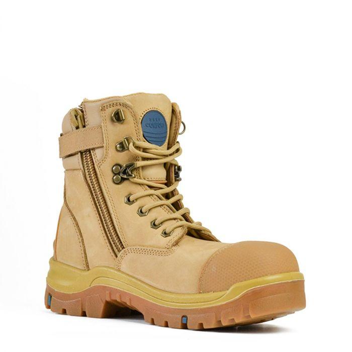 815 80647 Bata Patriot Zip Boot Wheat
