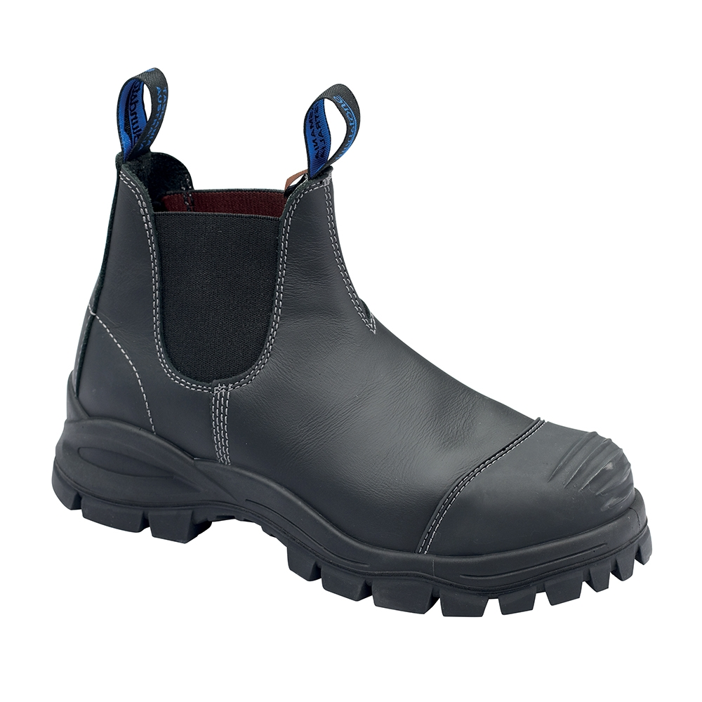 Blundstone Elastic Side Safety Boot Bump Cap Black