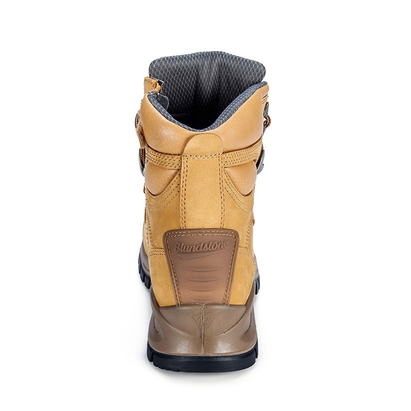 Blundstone Zip Side Safety Boot Back