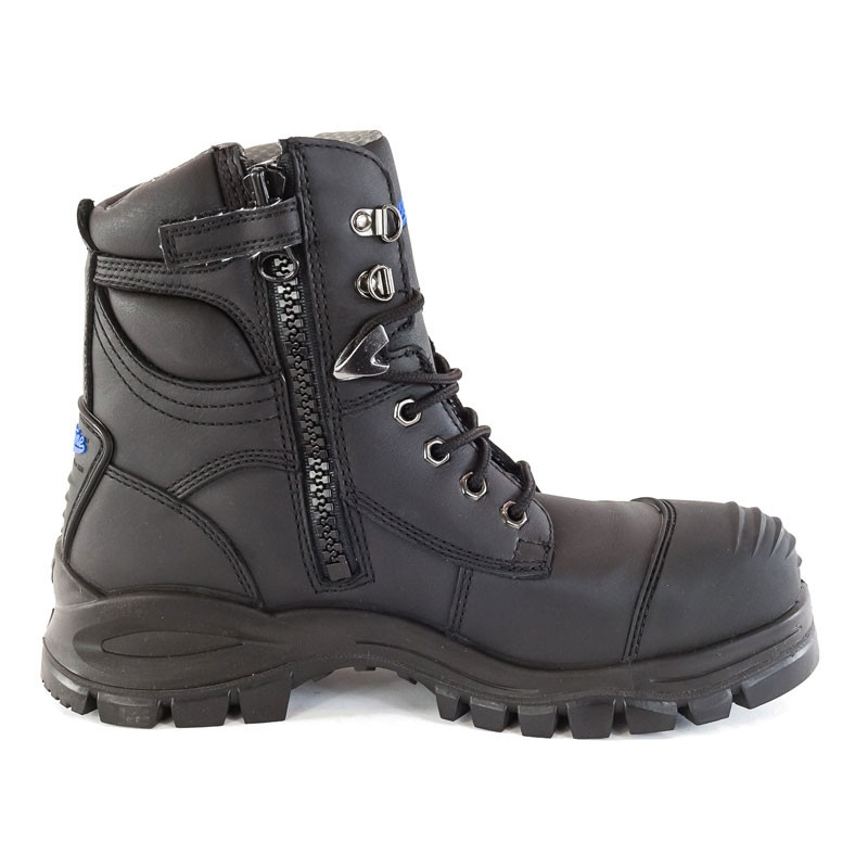 Blundstone Zip Side Safety Boot Black Right