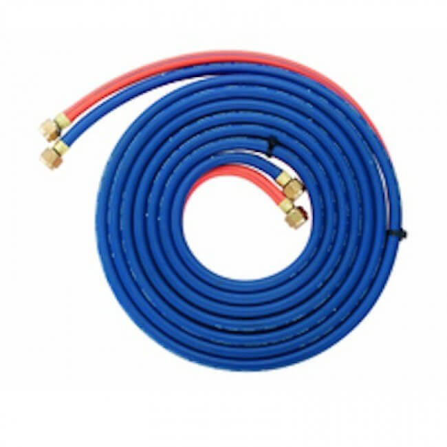 Comet Fitted Hose Twin Oxy Act 10M