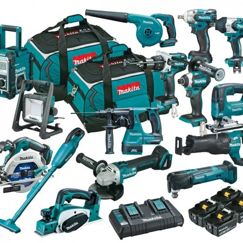 Dlx1502 Pt Makita 18 V Brushless 15 Piece Combo Kit