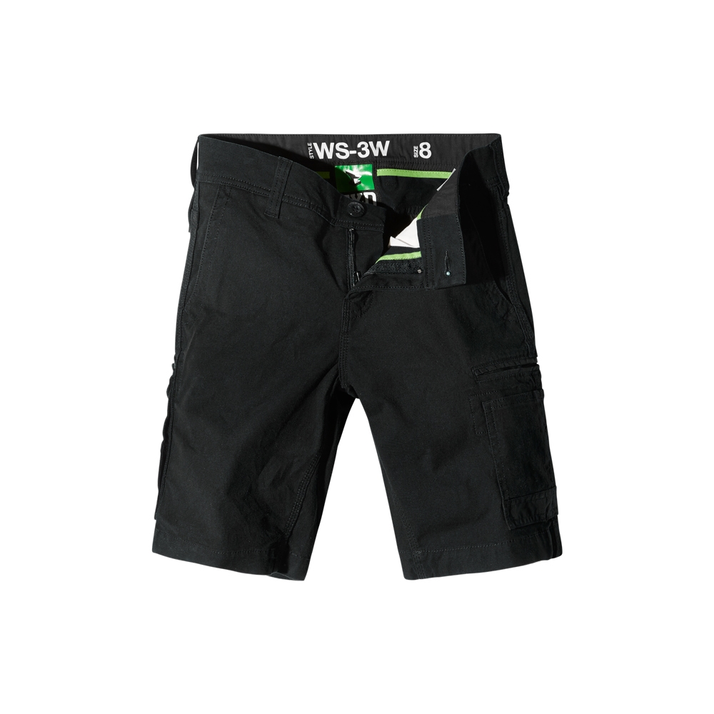 Fxd Ws 1 W Ladies Shorts Black Front