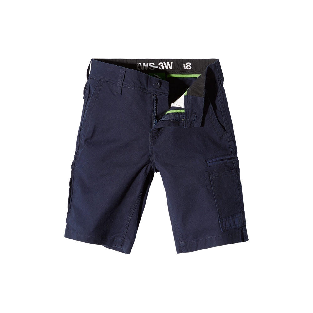 Fxd Ws 1 W Ladies Shorts Navy Front