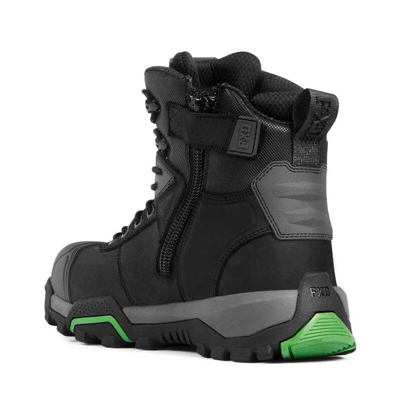 Fxd Wb 2 Safety Boot Black Back