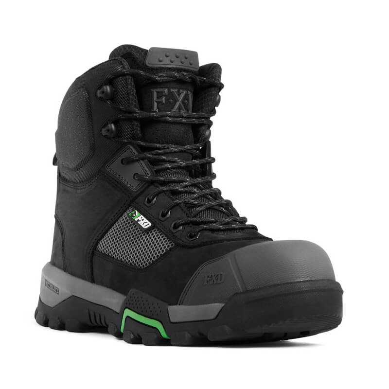 Fxd Wb 2 Safety Boot Black Front