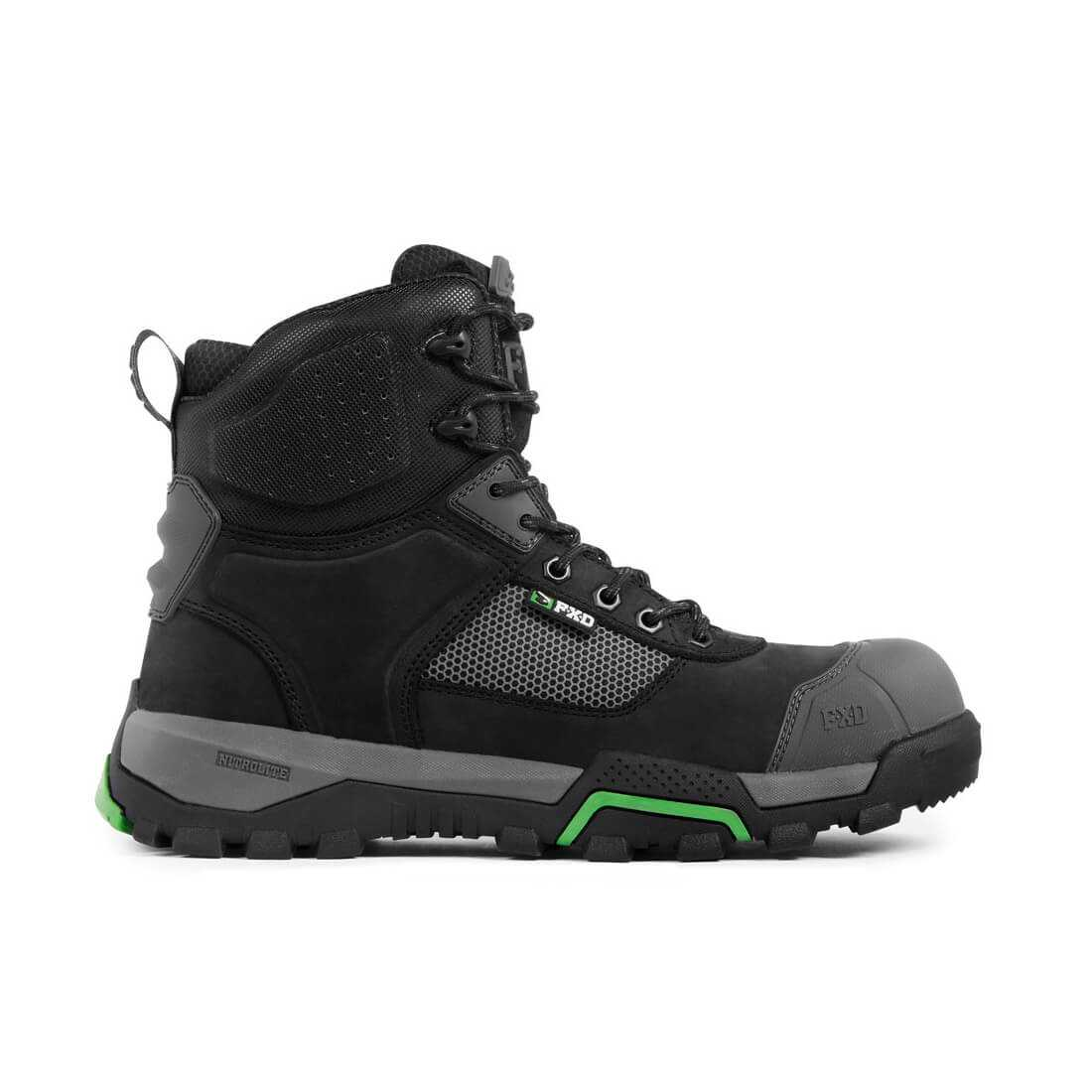 Fxd Wb 2 Safety Boot Black Side