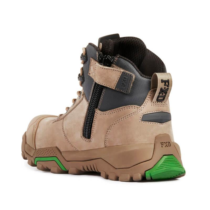 Fxd Wb 2 Safety Boot Stone Back