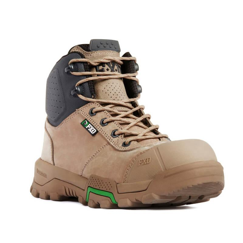 Fxd Wb 2 Safety Boot Stone Front