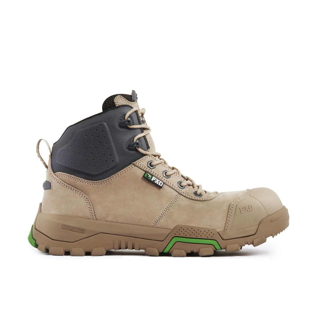 Fxd Wb 2 Safety Boot Stone Side