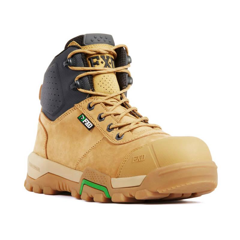 Fxd Wb 2 Safety Boot Wheat Front