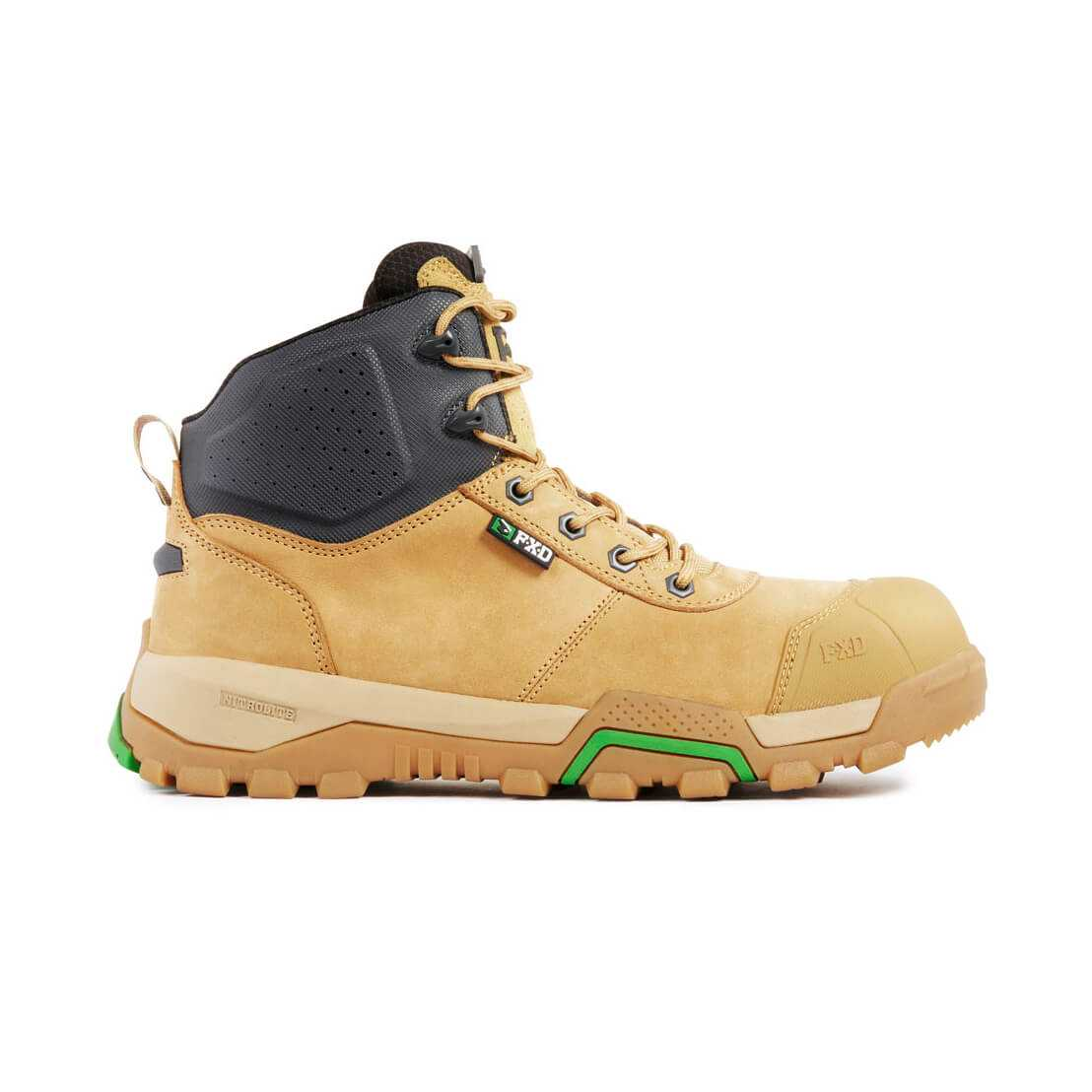 Fxd Wb 2 Safety Boot Wheat Side