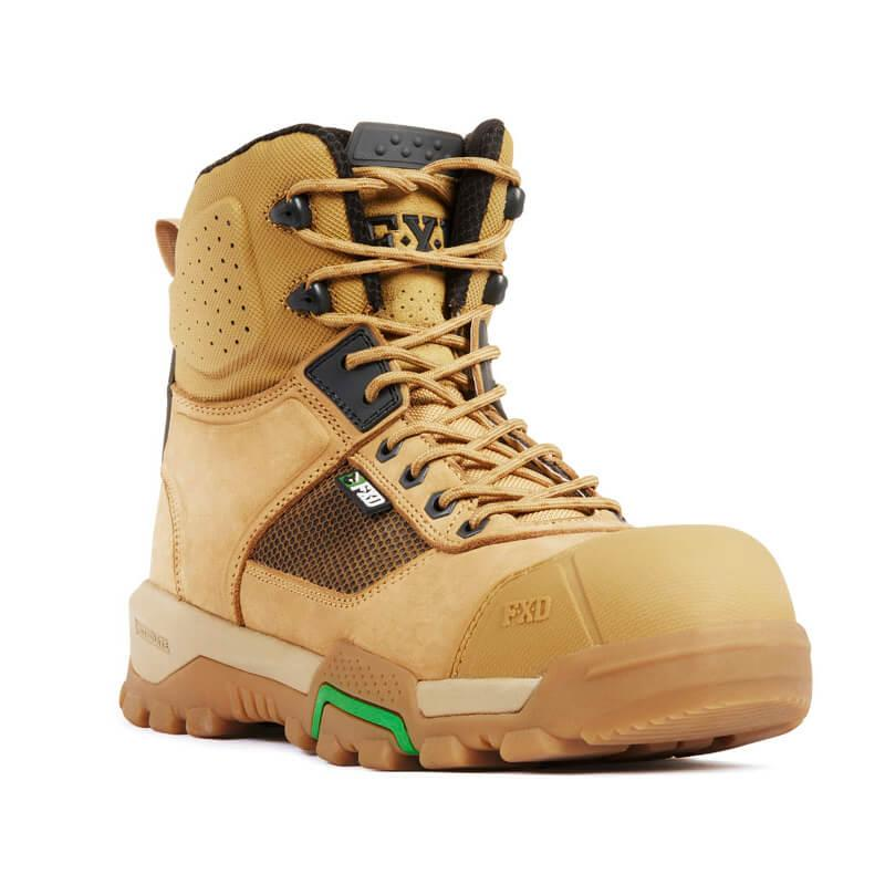 Fxd Wb 1 Safety Boot Wheat Front