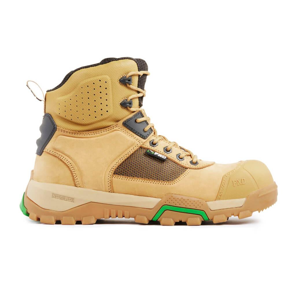 Fxd Wb 1 Safety Boot Wheat Side