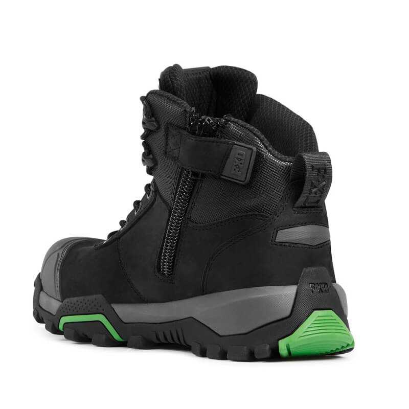 Fxd Wb 1 Safety Boot Black Back