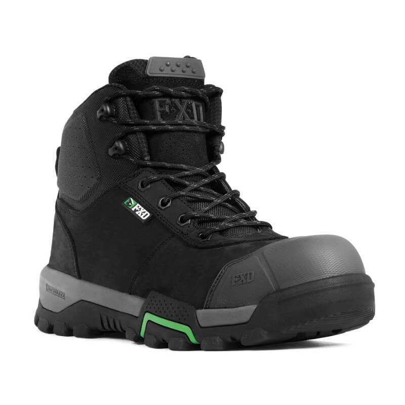 Fxd Wb 1 Safety Boot Black Front