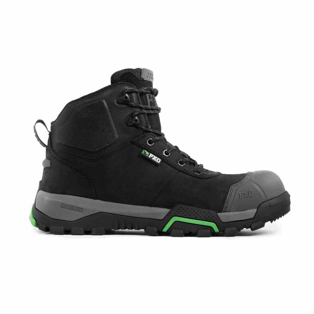 Fxd Wb 1 Safety Boot Black Side