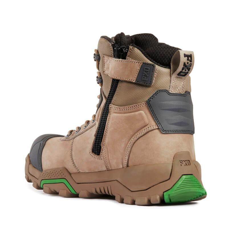 Fxd Wb 1 Safety Boot Stone Back