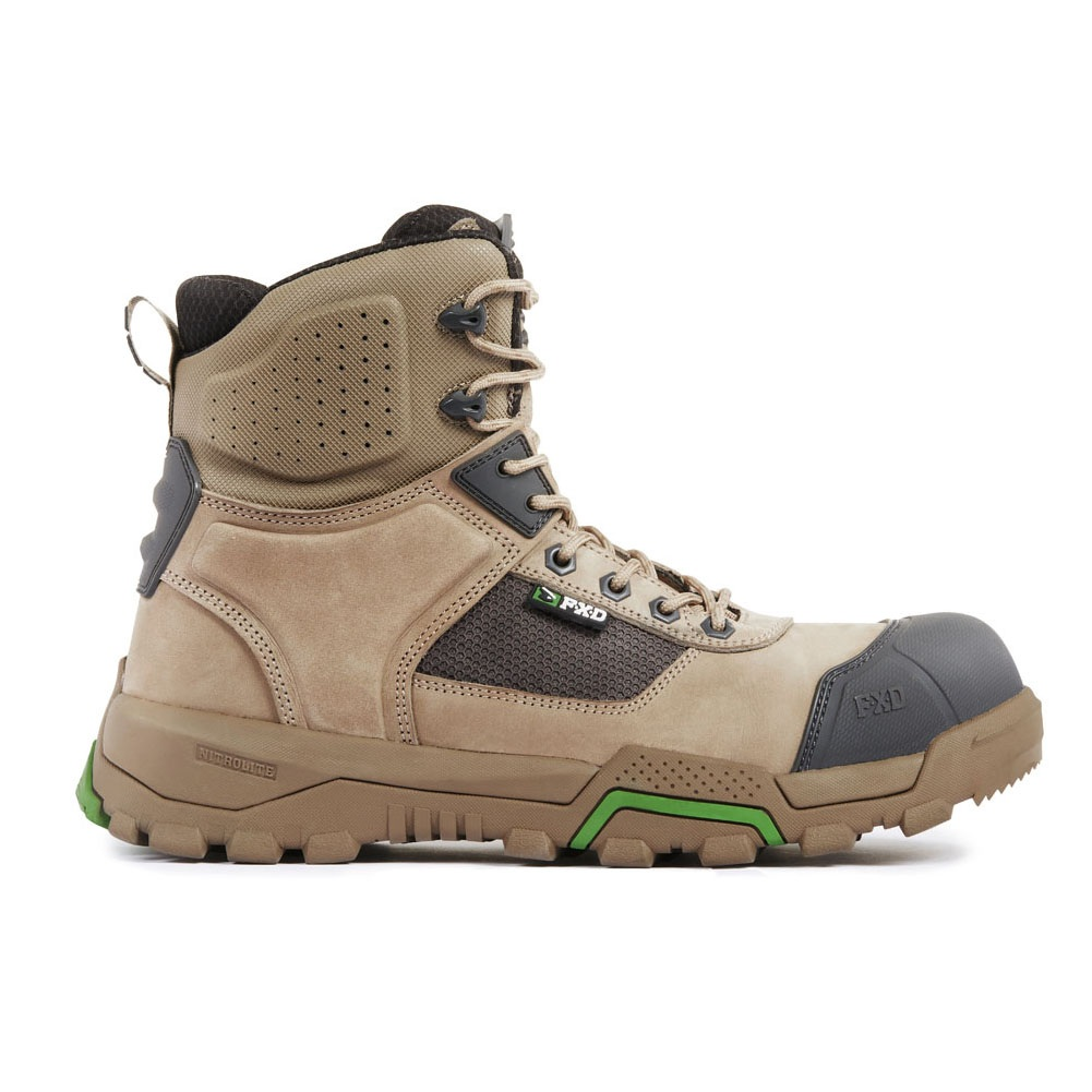 Fxd Wb 1 Safety Boot Stone Side