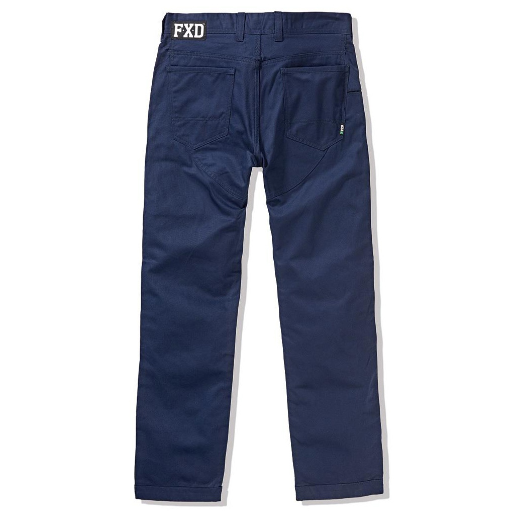 Fxd Wp 3 Work Pants Navy Back