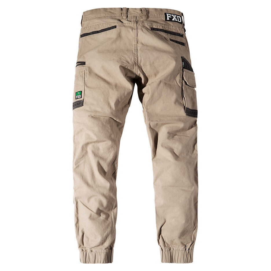 Fxd Wp 4 Work Pants Khaki Back
