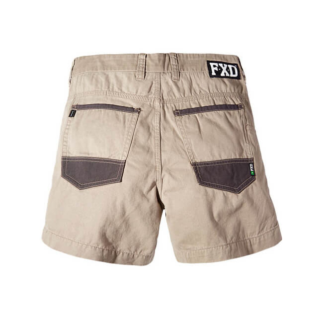 Fxd Ws 2 Work Shorts Back
