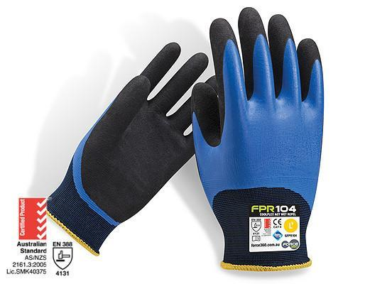 Force360 Coolflex Wet Repel Nitrile Glove