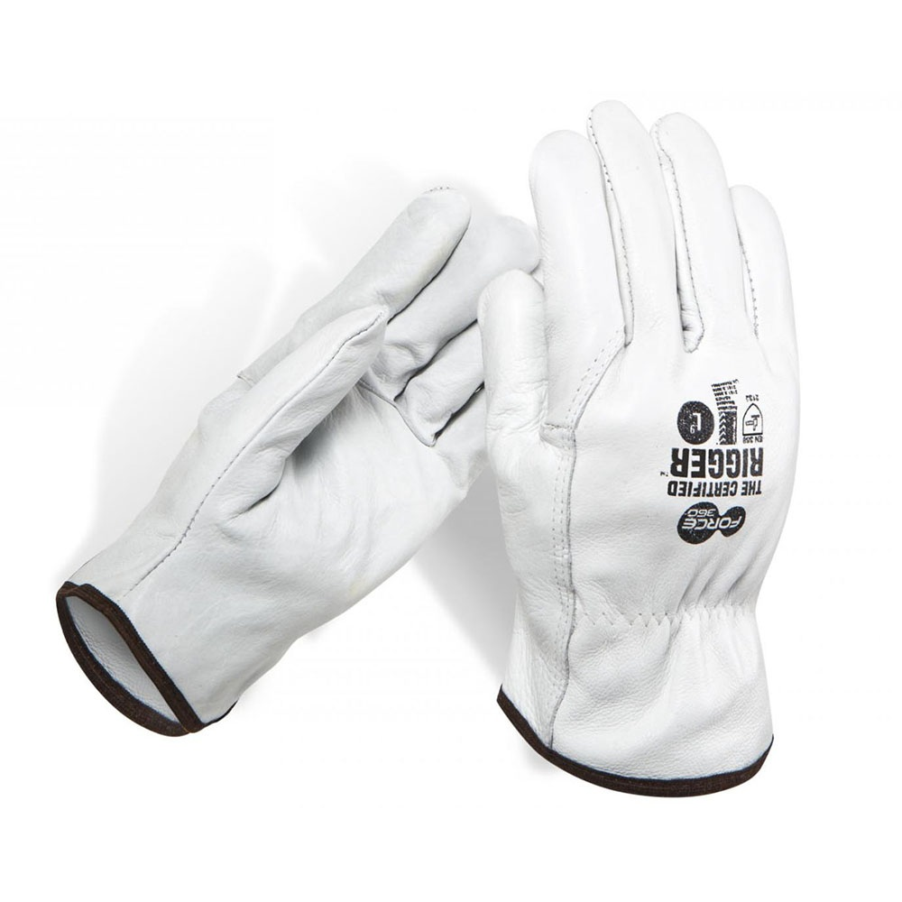 Force360 Full Leather Rigger Gloves