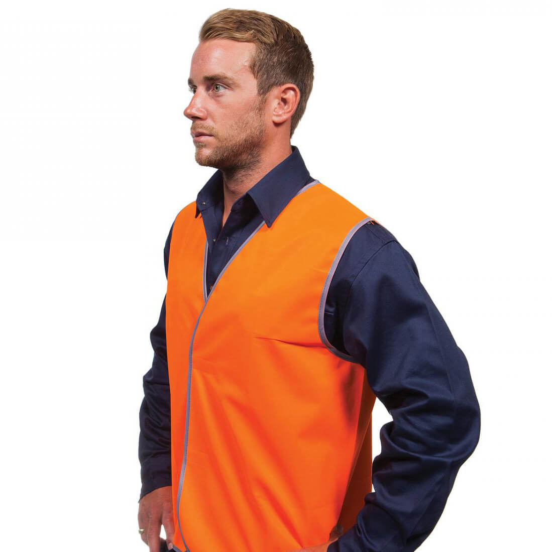 Force360 Hi Vis Safety Vest Orange
