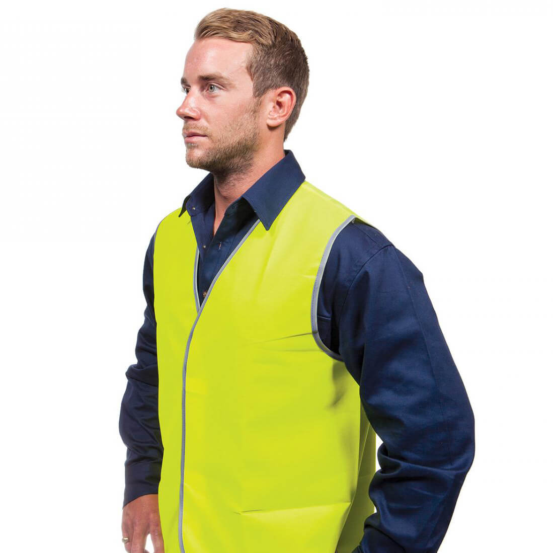 Force360 Hi Vis Safety Vest Yellow