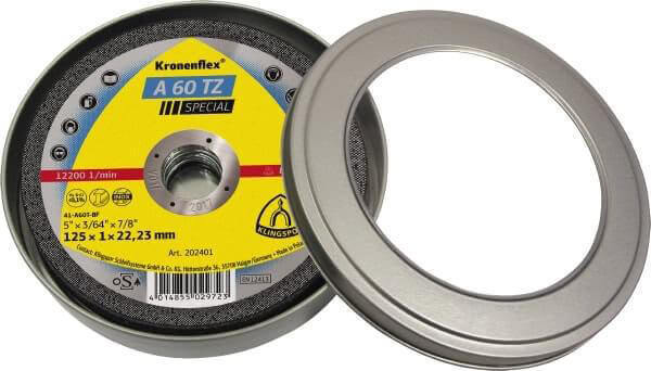 Klingspor A60 Tz Inox Cut Off Wheel 125X1X22Mm