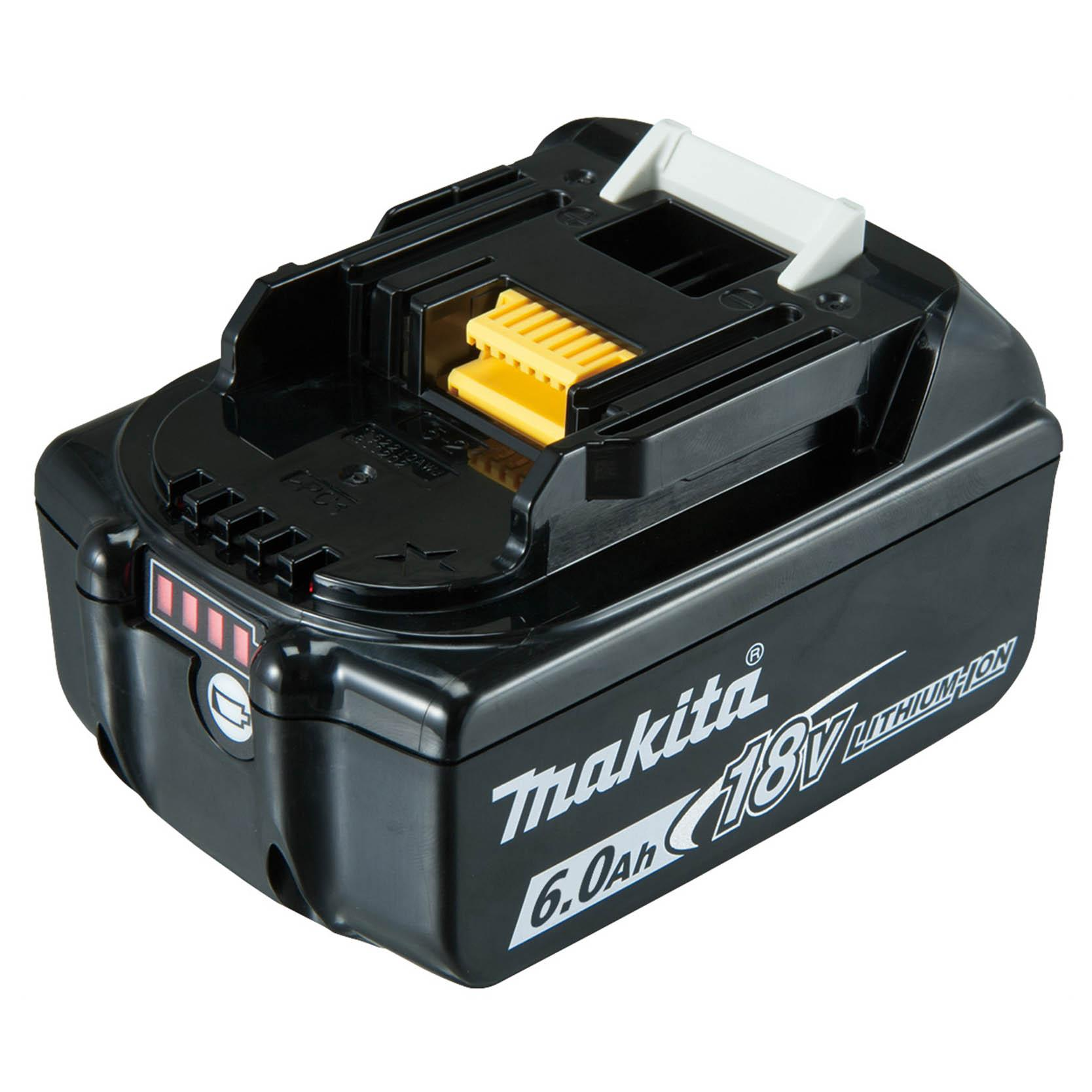 Makita 18V 6Ah Battery With Fuel Gauge