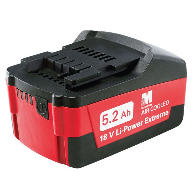 Metabo 18V Li Ion Extreme Battery