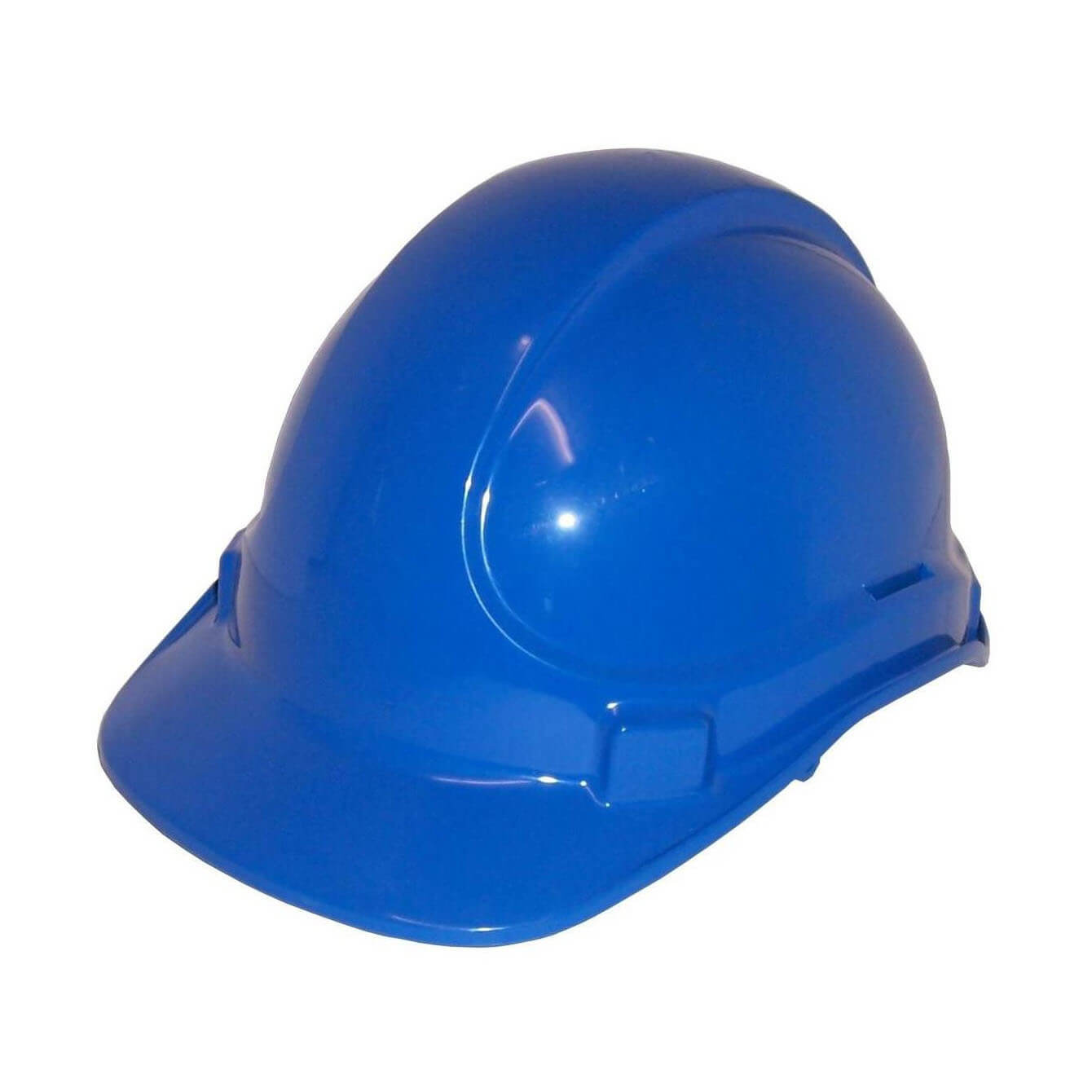 Non Vented Hard Hat Blue