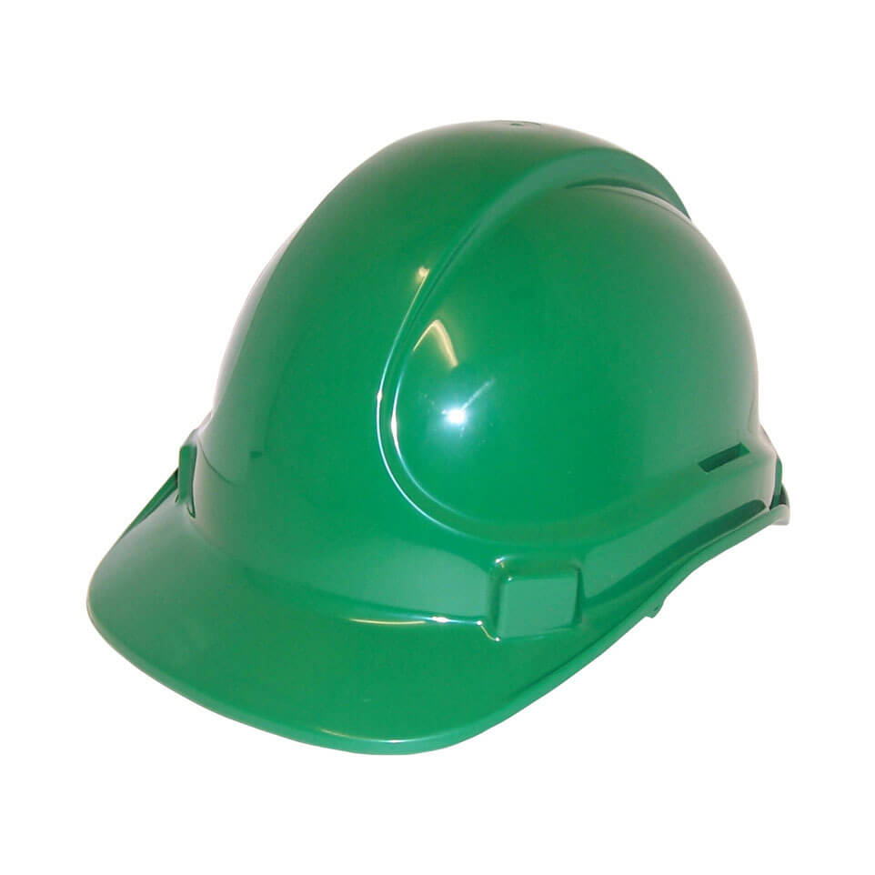 Non Vented Hard Hat Green