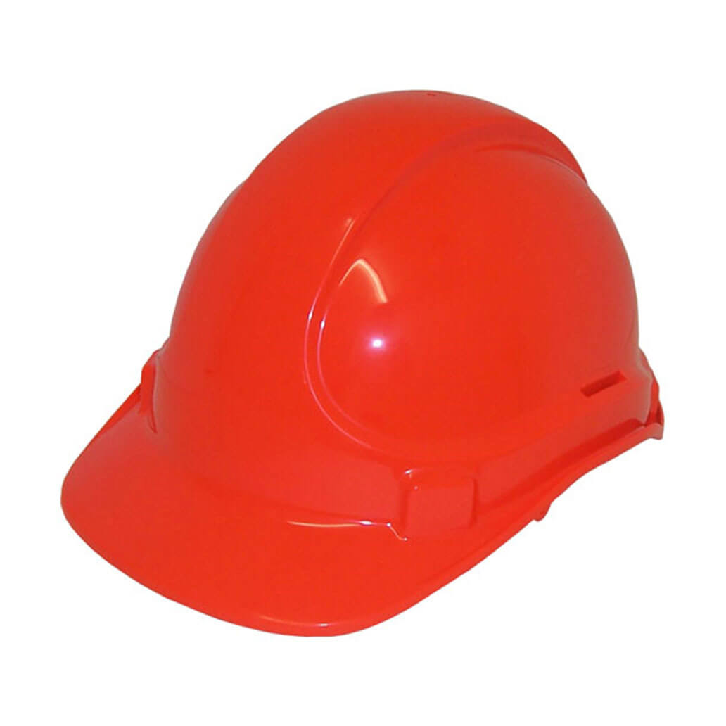 Non Vented Hard Hat Red