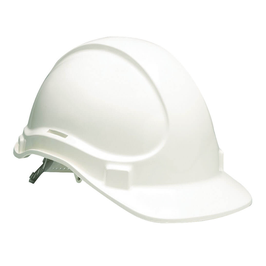 Non Vented Hard Hat White