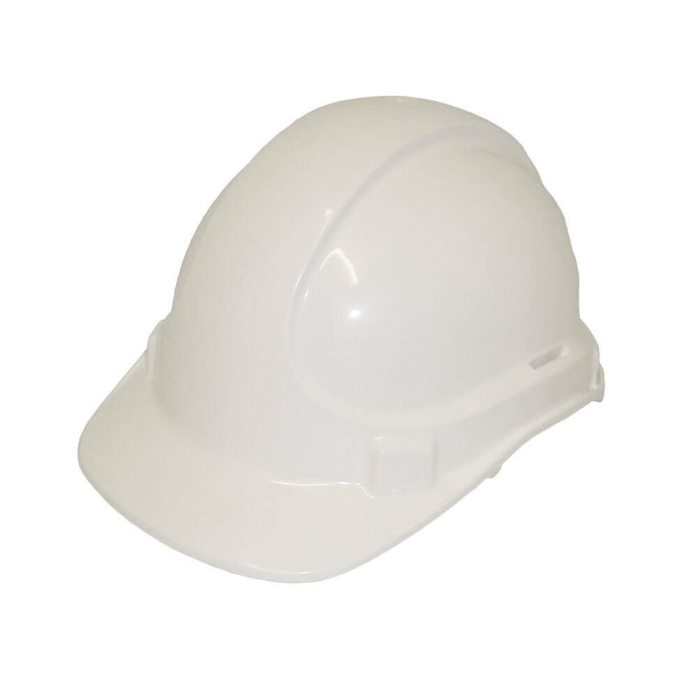 Non Vented Hard Hat White2