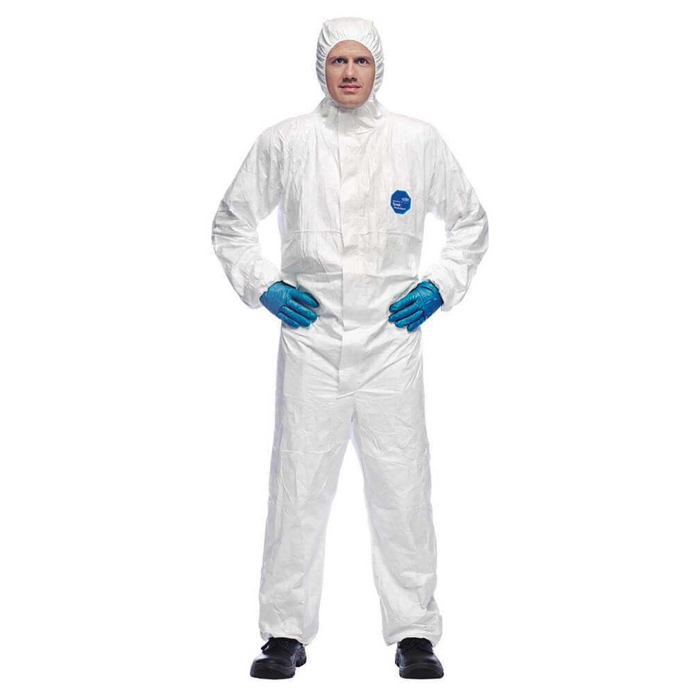 Tyvek Classic Xpert Disposable Coverall White