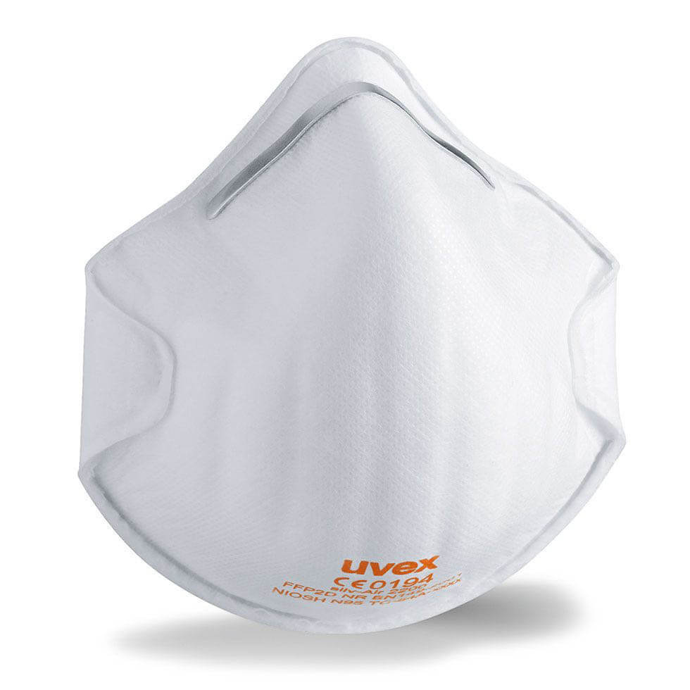 Uvex Cupped Disposable Mask