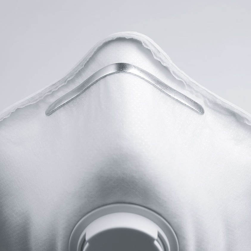 Uvex P1 V Valved Disposbale Mask Nose