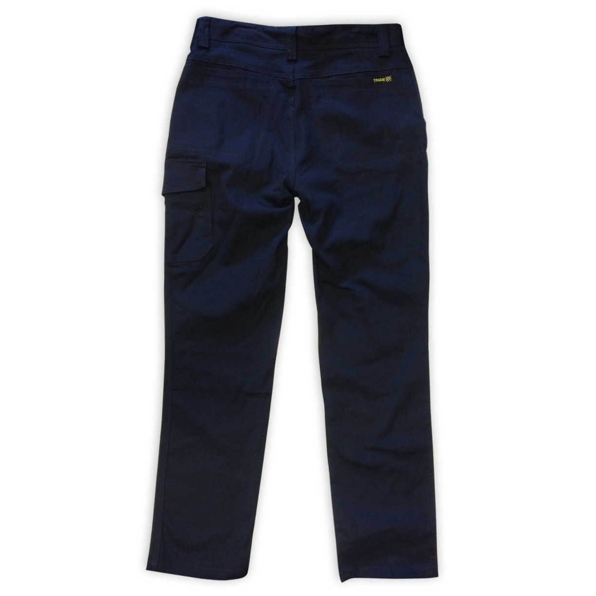 Xax Roxby Cargo Trousers Navy Back