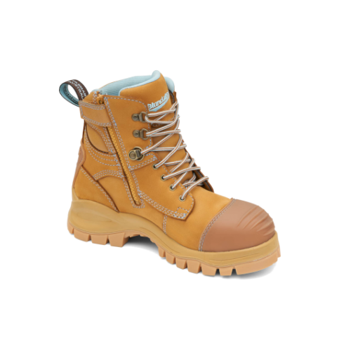 49a62440d7a Blundstone 997 Zip Side Lace Up Safety Boot with Bump Cap | TasWeld