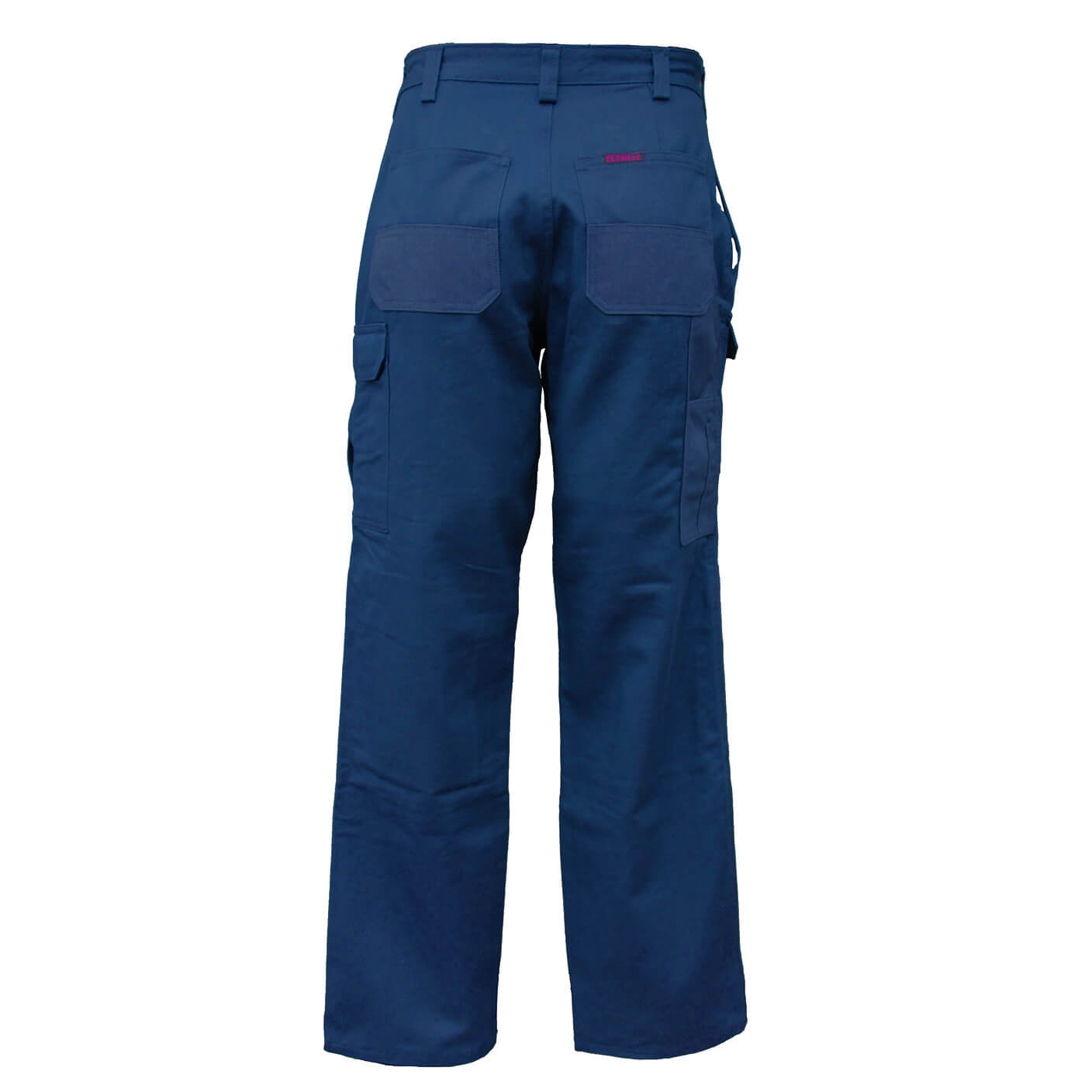 Eezneez Trousers Cushioned Knees Navy Back